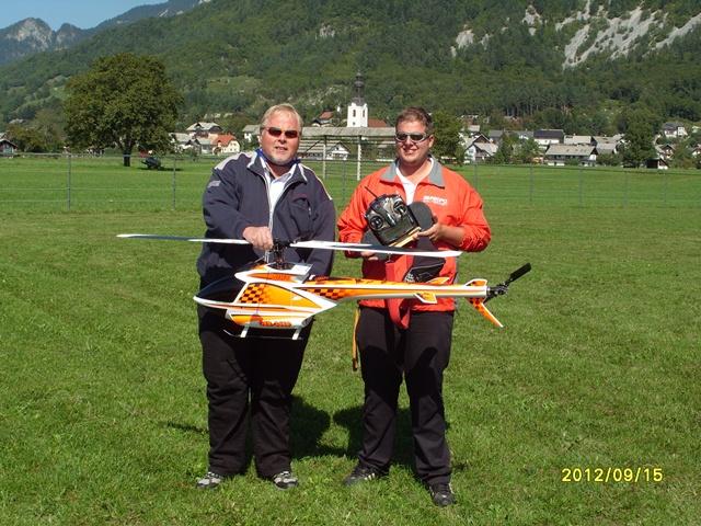 Stefan & papa Wachsmuth, GER, 2012